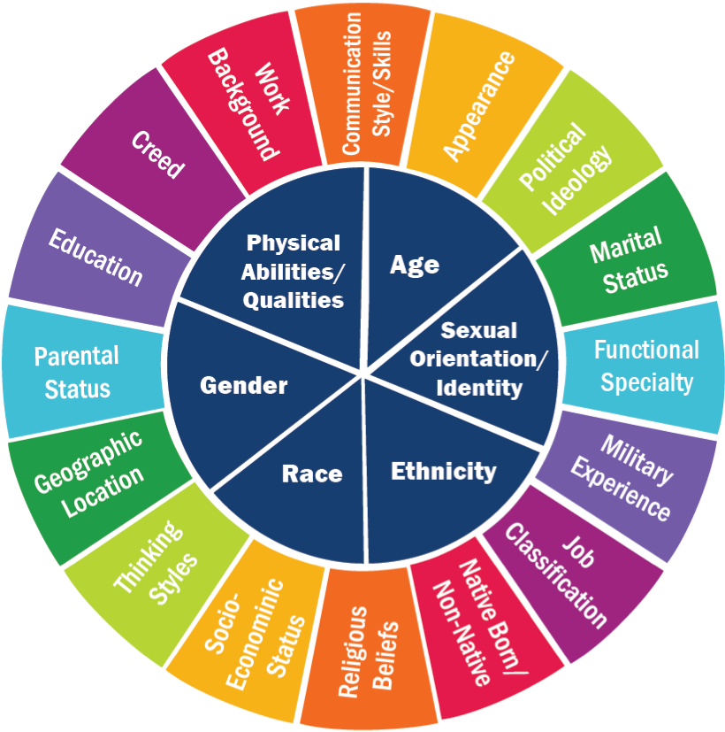 Emily Murphy Center - The Diversity Wheel